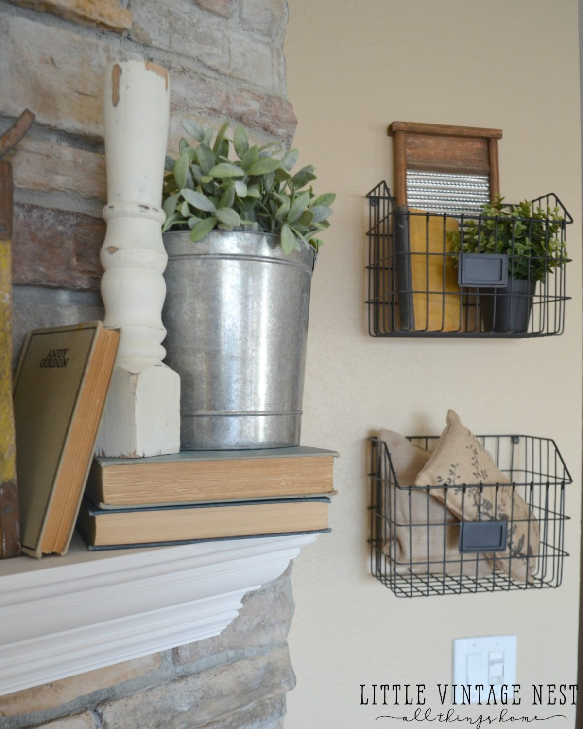 Simple Ways To Decorate With Spindles Little Vintage Nest