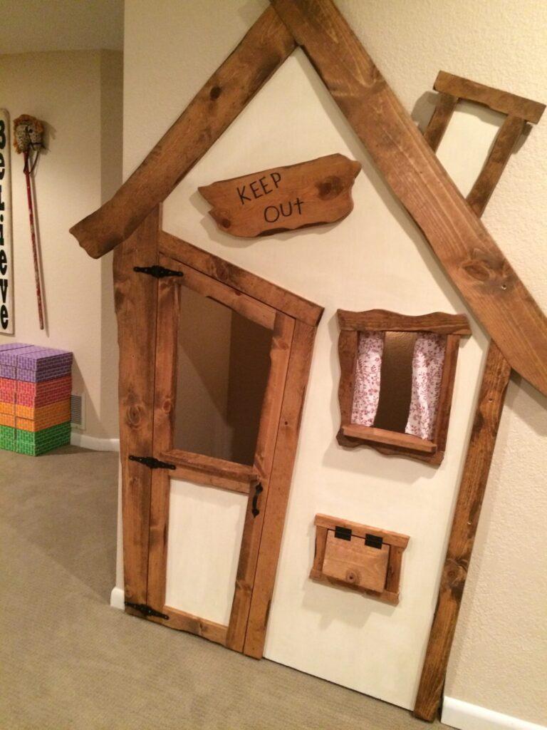 Indoor Playhouse DIY Litte Vintage Nest