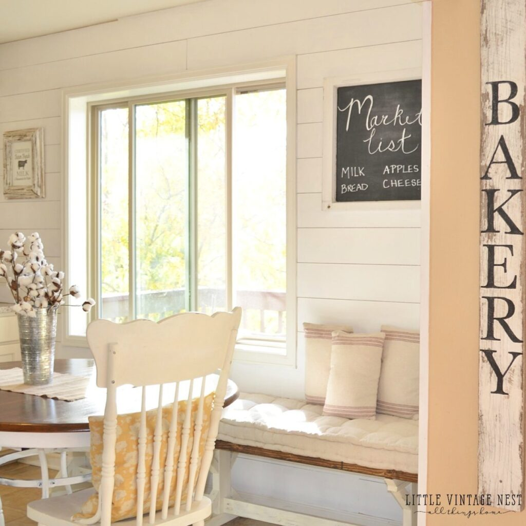 Simple and Easy Bakery Sign Tutorial Little Vintage Nest