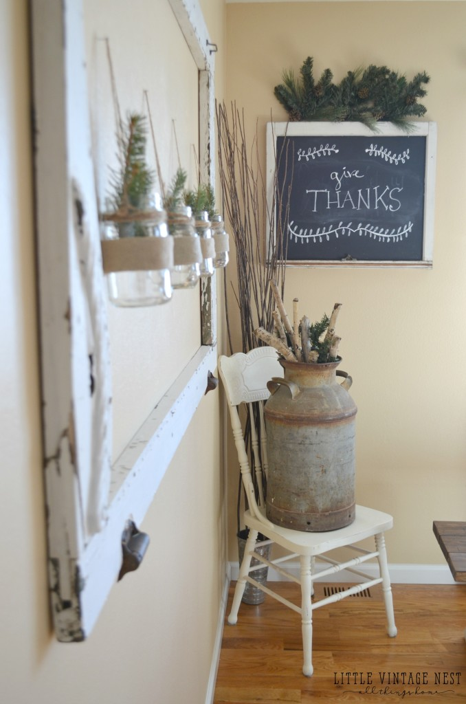Winter Decor Tips and Tricks Farmhouse Style from Little Vintage Nest