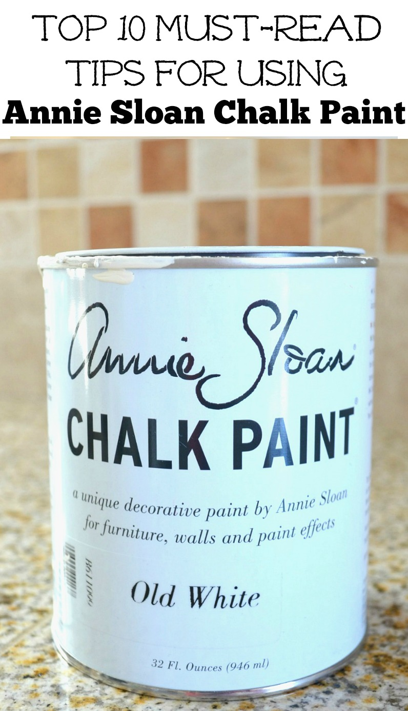 My Top 10 Chalk Painting Tips & Tricks