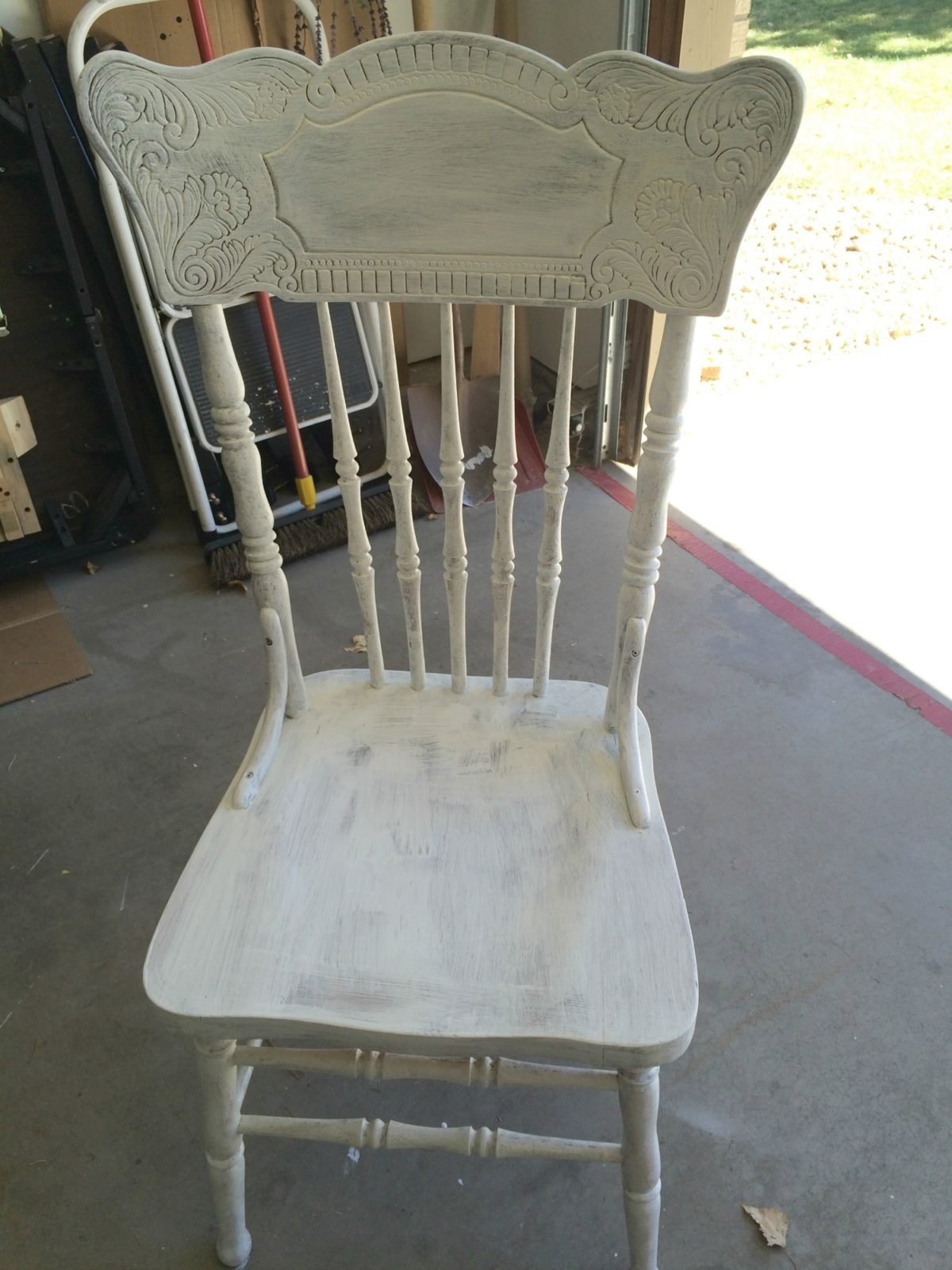 Friday Flip: Farmhouse Chairs with Primer