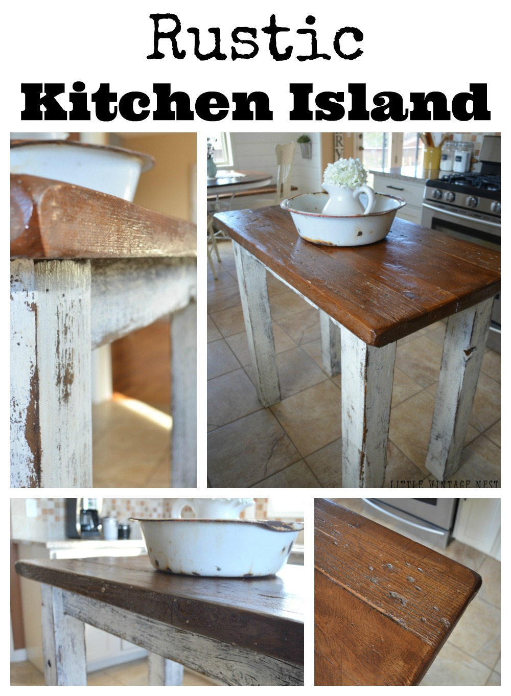 rustic kitchen island rustic kitchen island vintage nest 14806