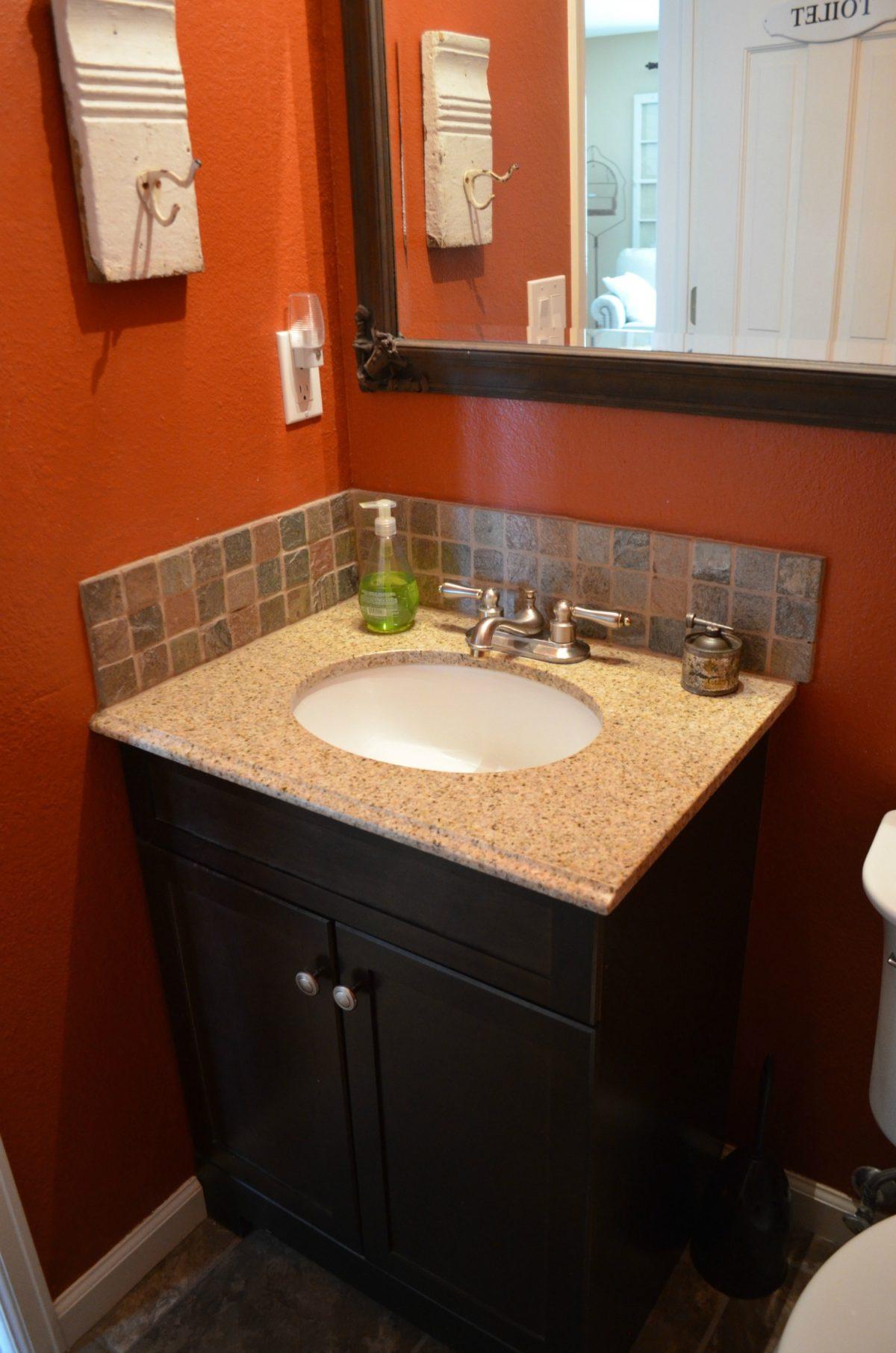 Powder Bathroom Before