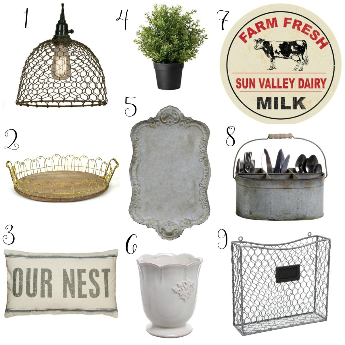 Farmhouse Finds under $50