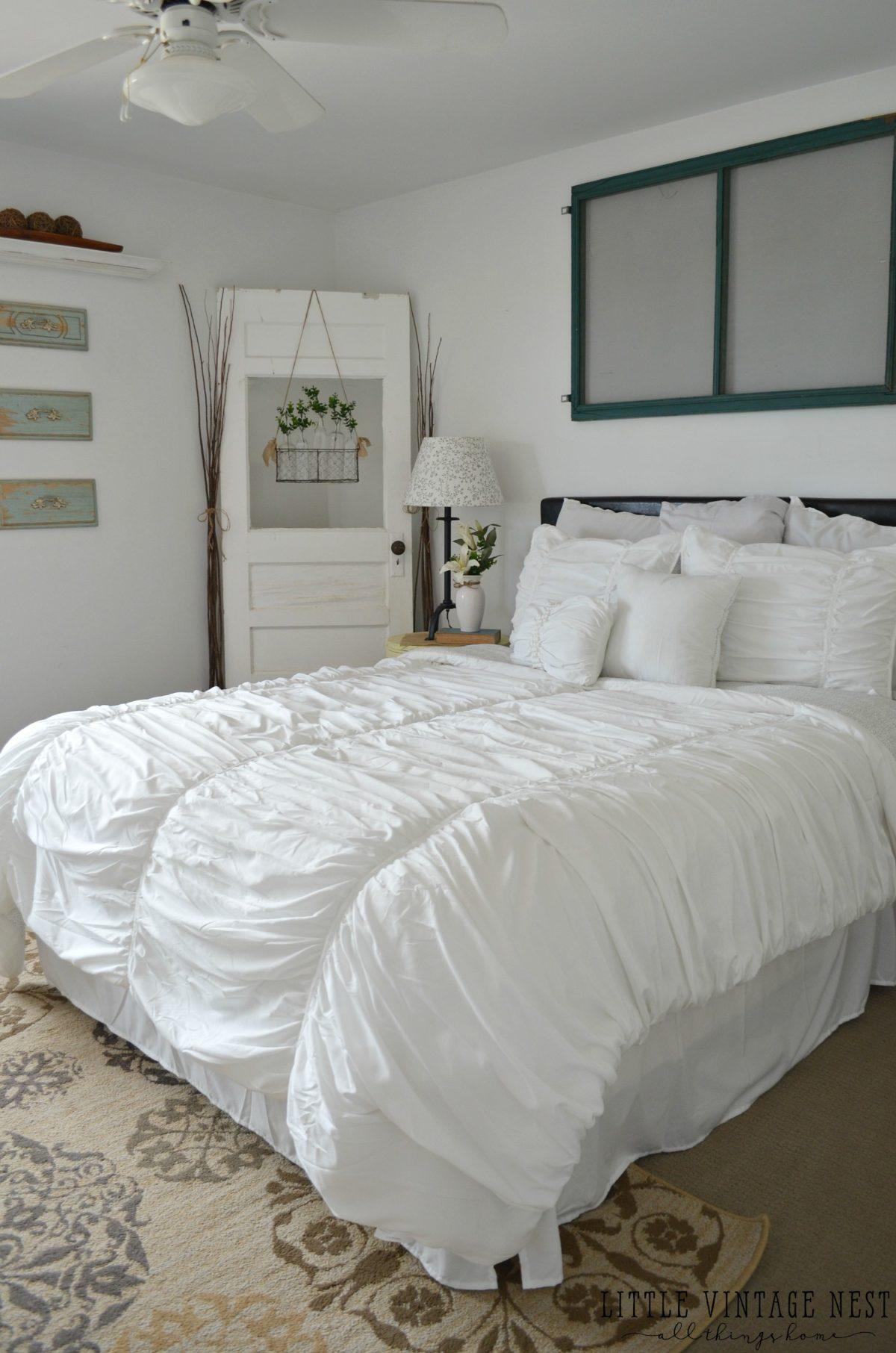 Vintage Inspired Guest Bedroom