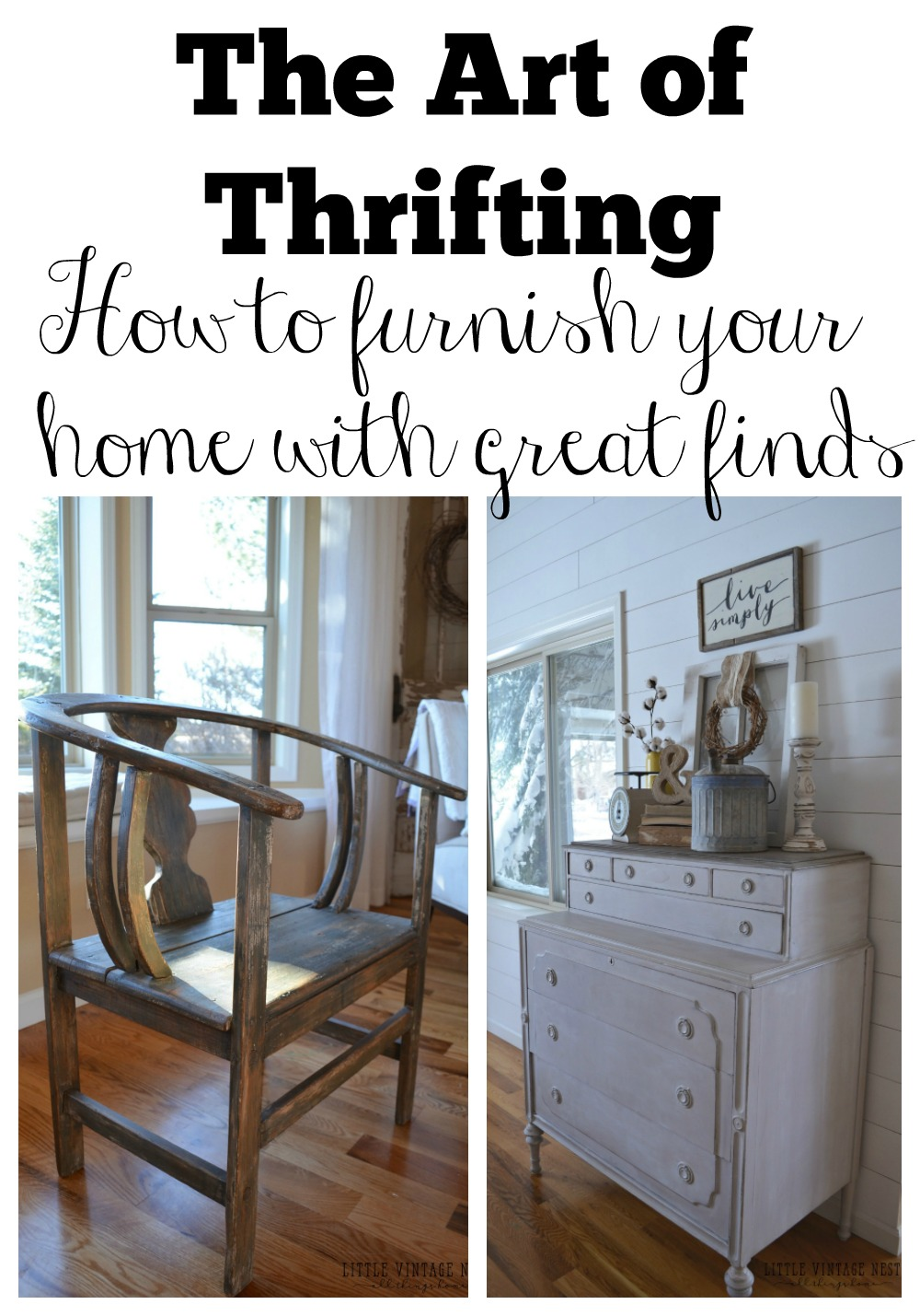 the art of thriftinghow to furnish your home with great finds - How To Furnish Your Home