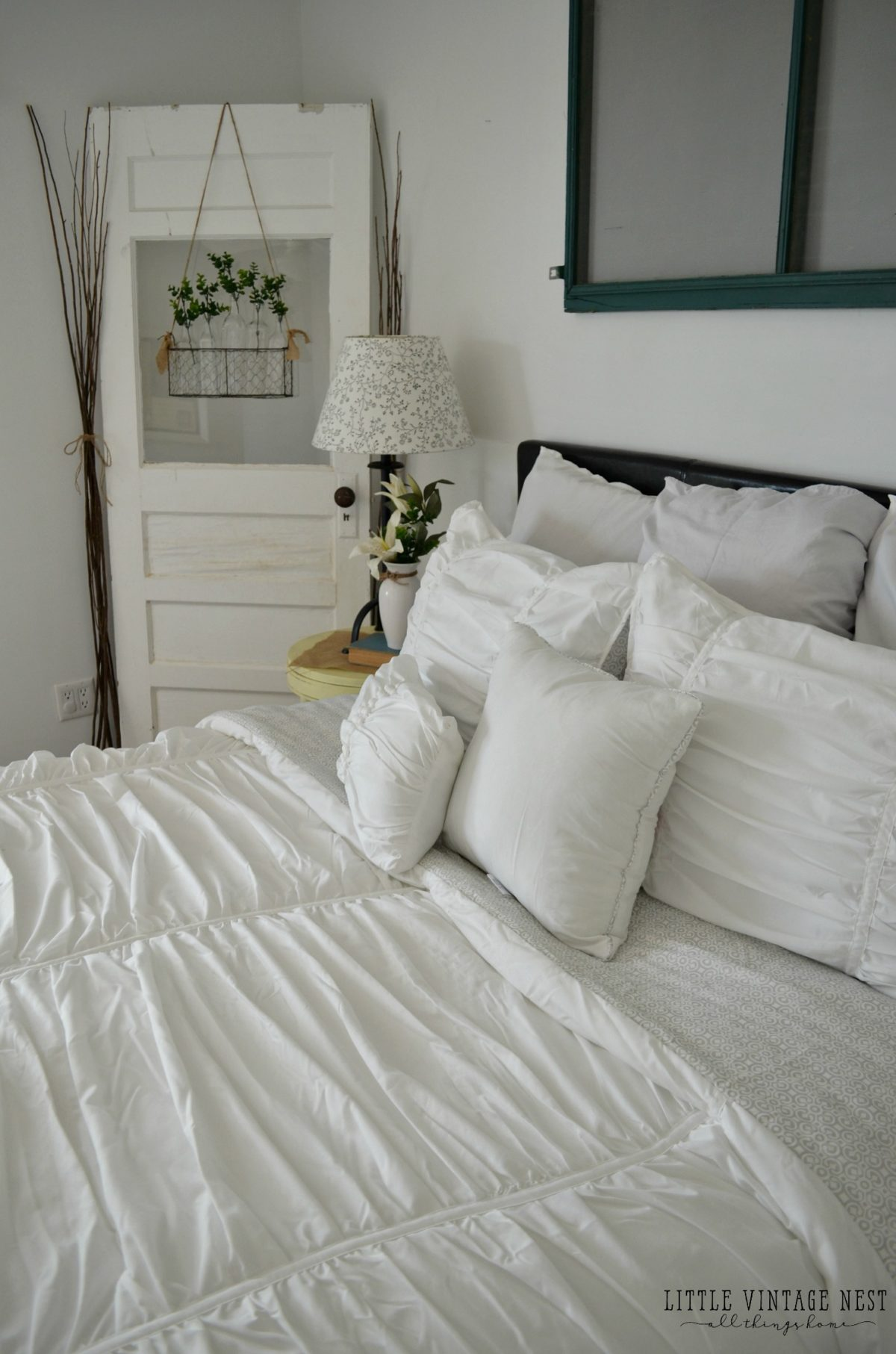 Vintage Inspired Guest Bedroom