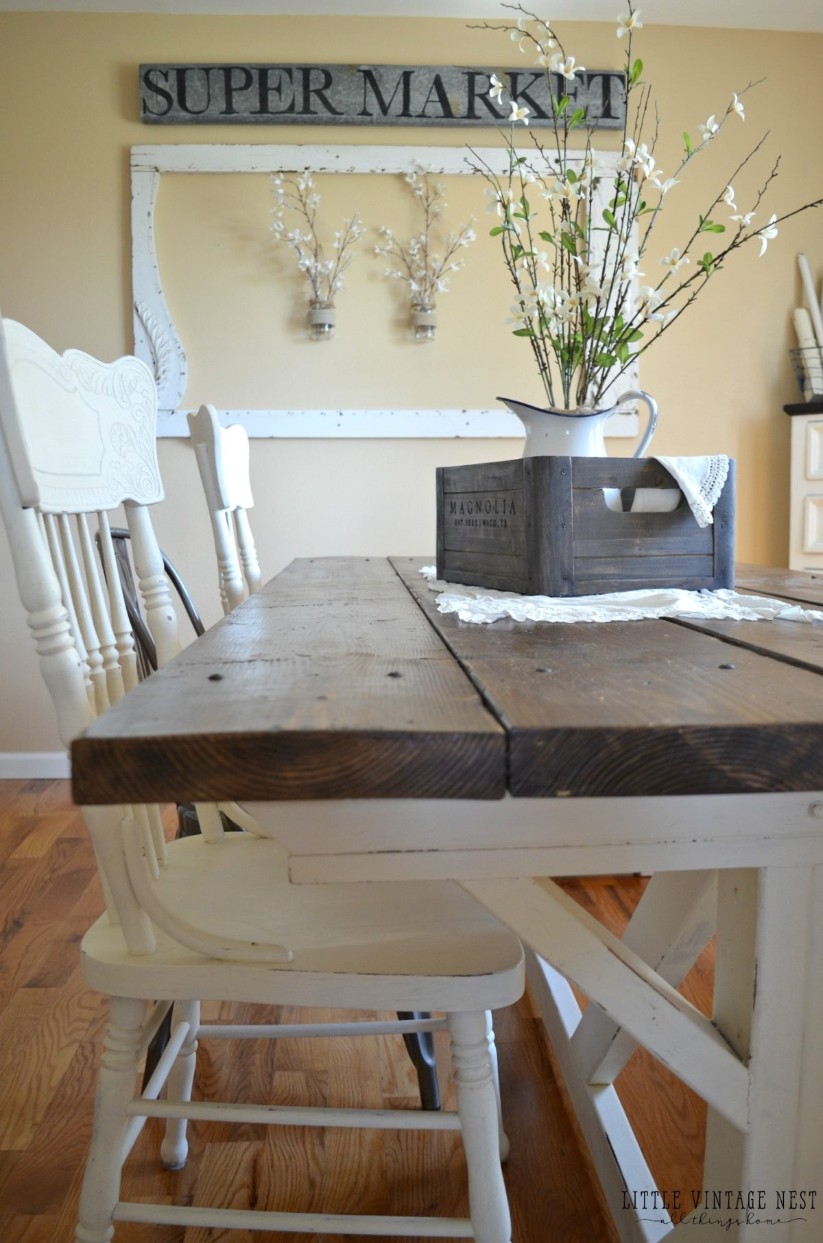 5 Ways to Style a Wooden Crate Dining Room Centerpiece