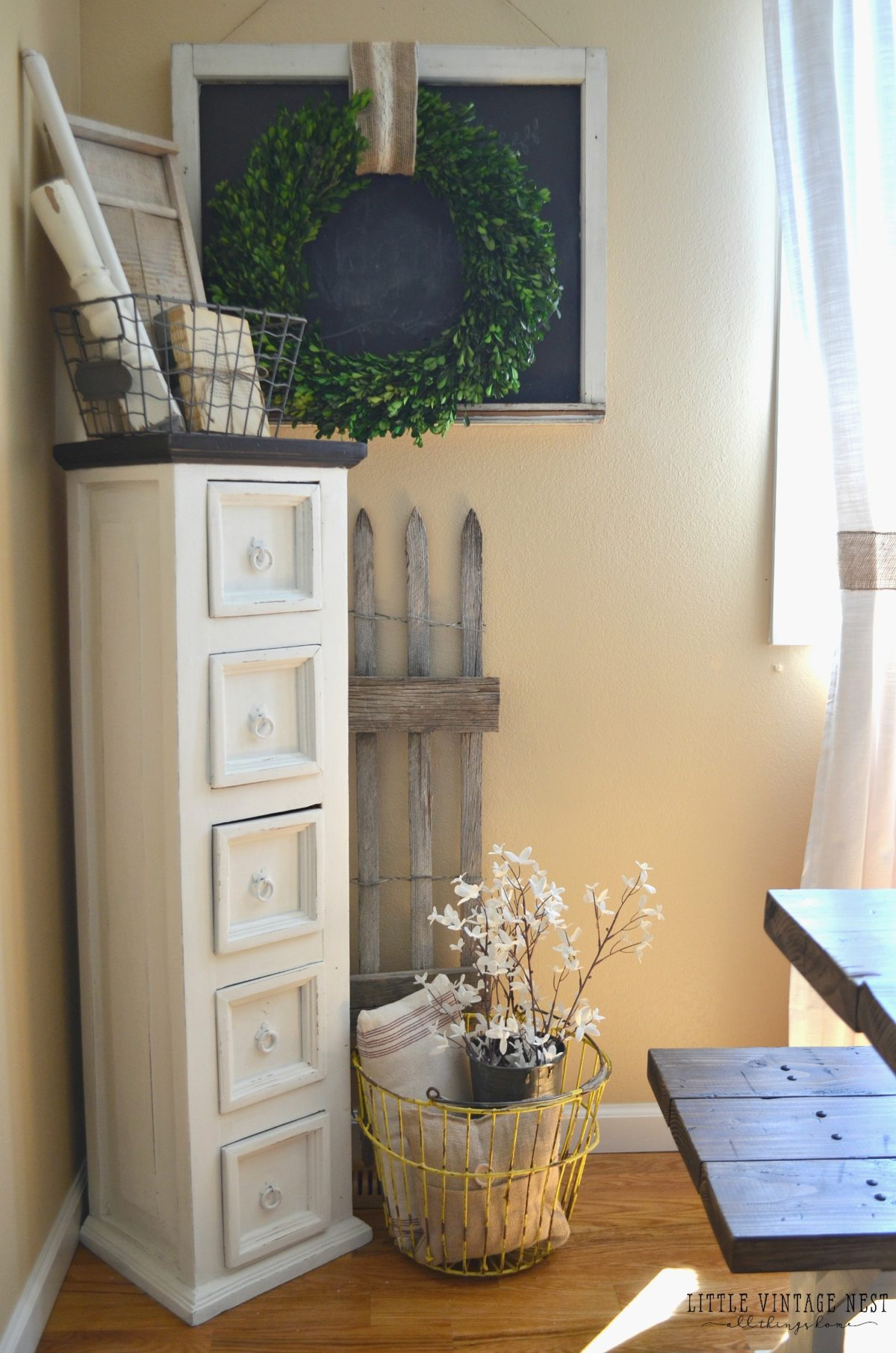 Farmhouse Decor And Dining Room Storage Cabinet ... Part 47