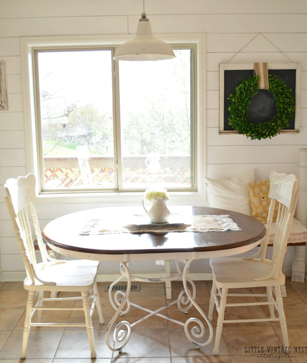 diy dining room table makeover. Farmhouse Breakfast Nook Diy Dining Room Table Makeover G
