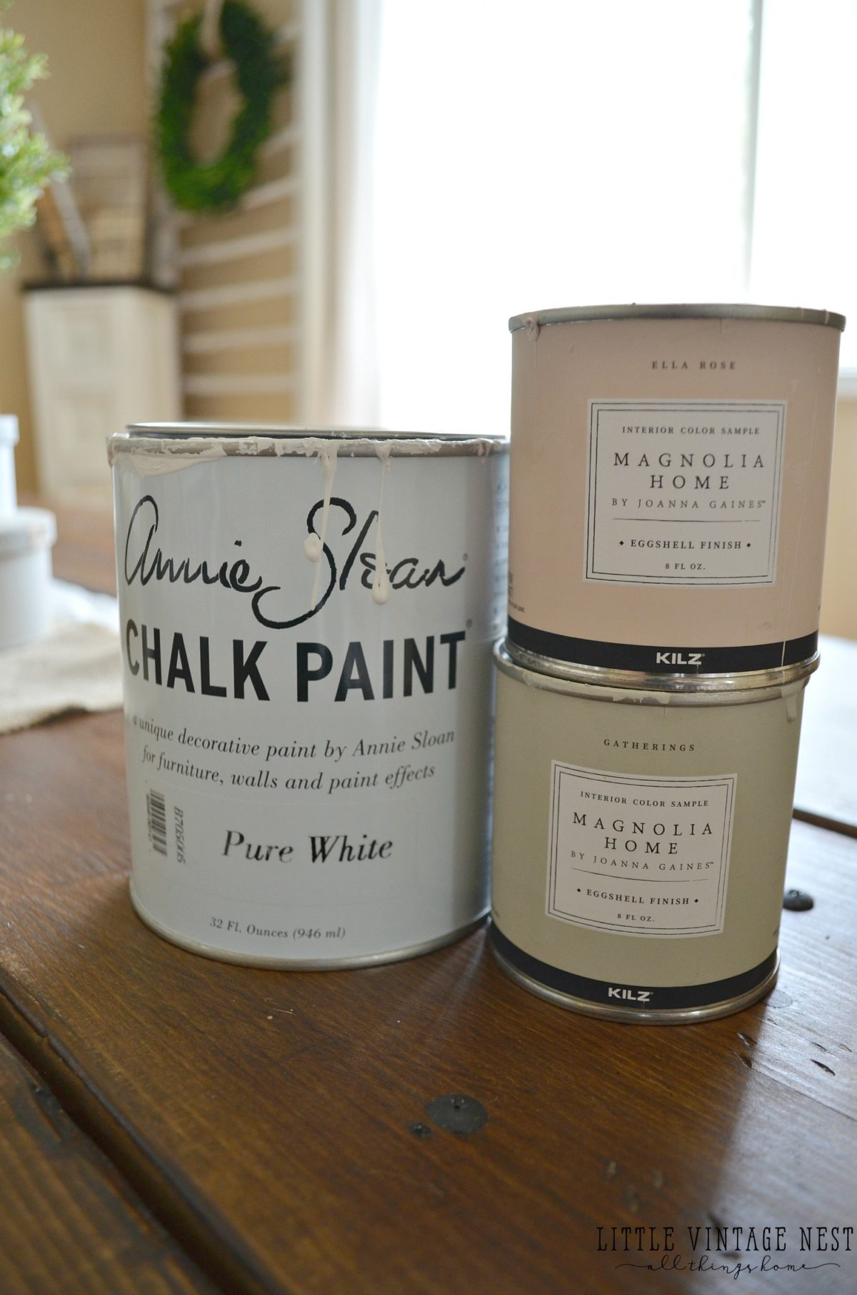Magnolia Home Paint and Annie Sloan Chalk Paint
