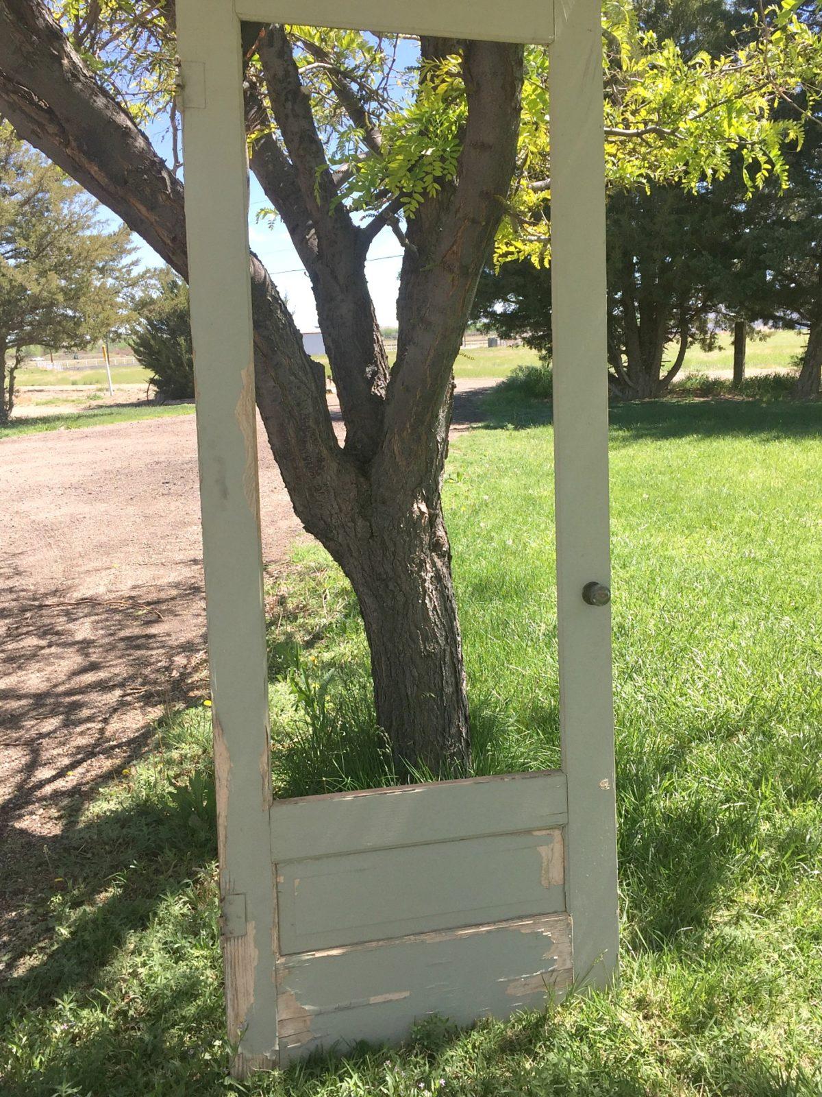 Old Door before with no mirror