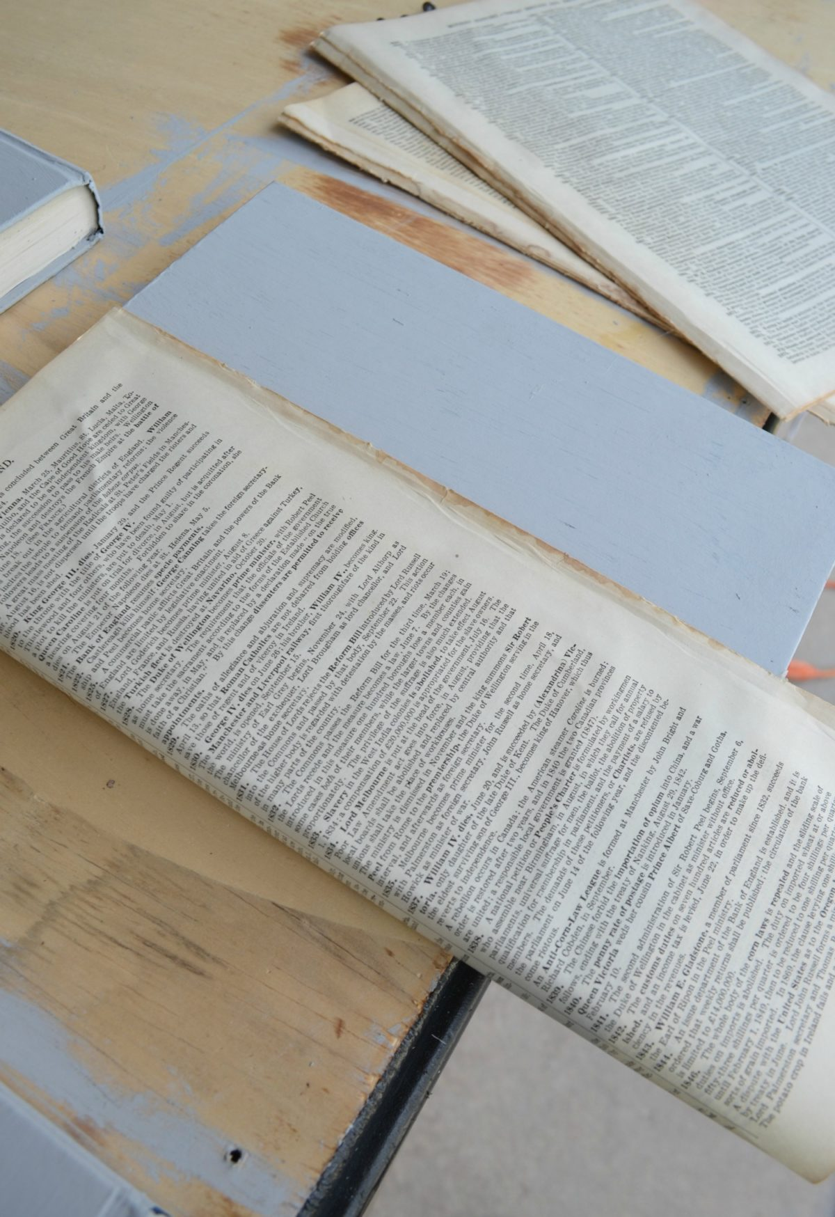 Book Pages Lined Book