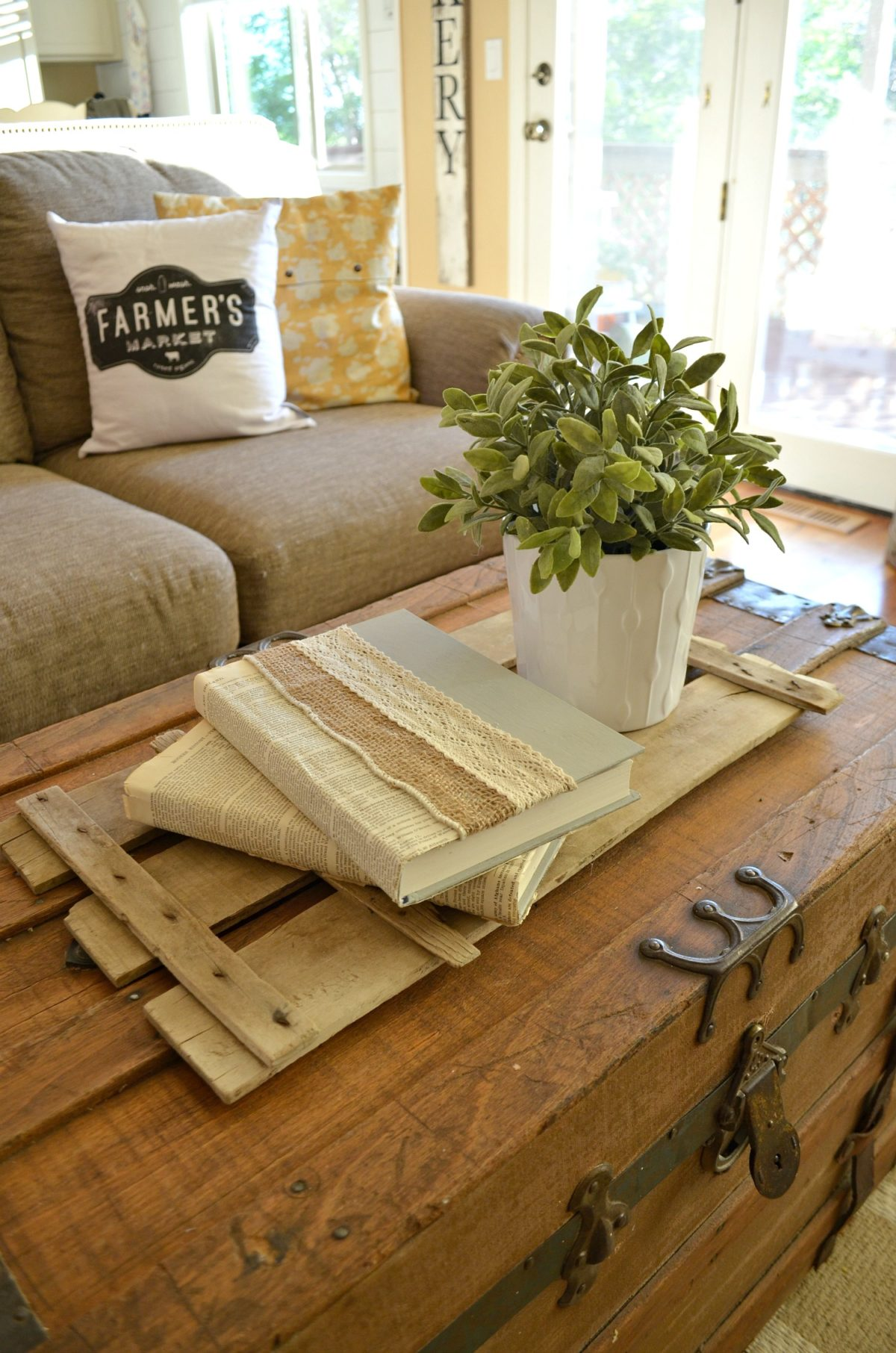 DIY Lace And Burlap Books