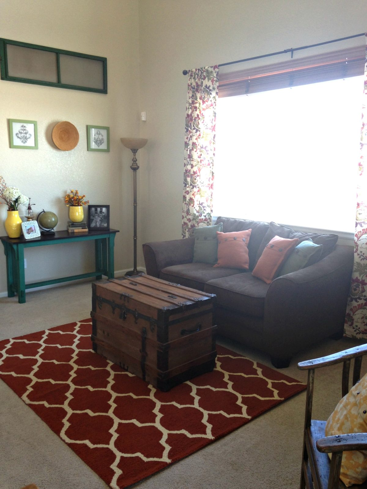 Fashioned Living Room Furniture: How I Transitioned To Farmhouse Style