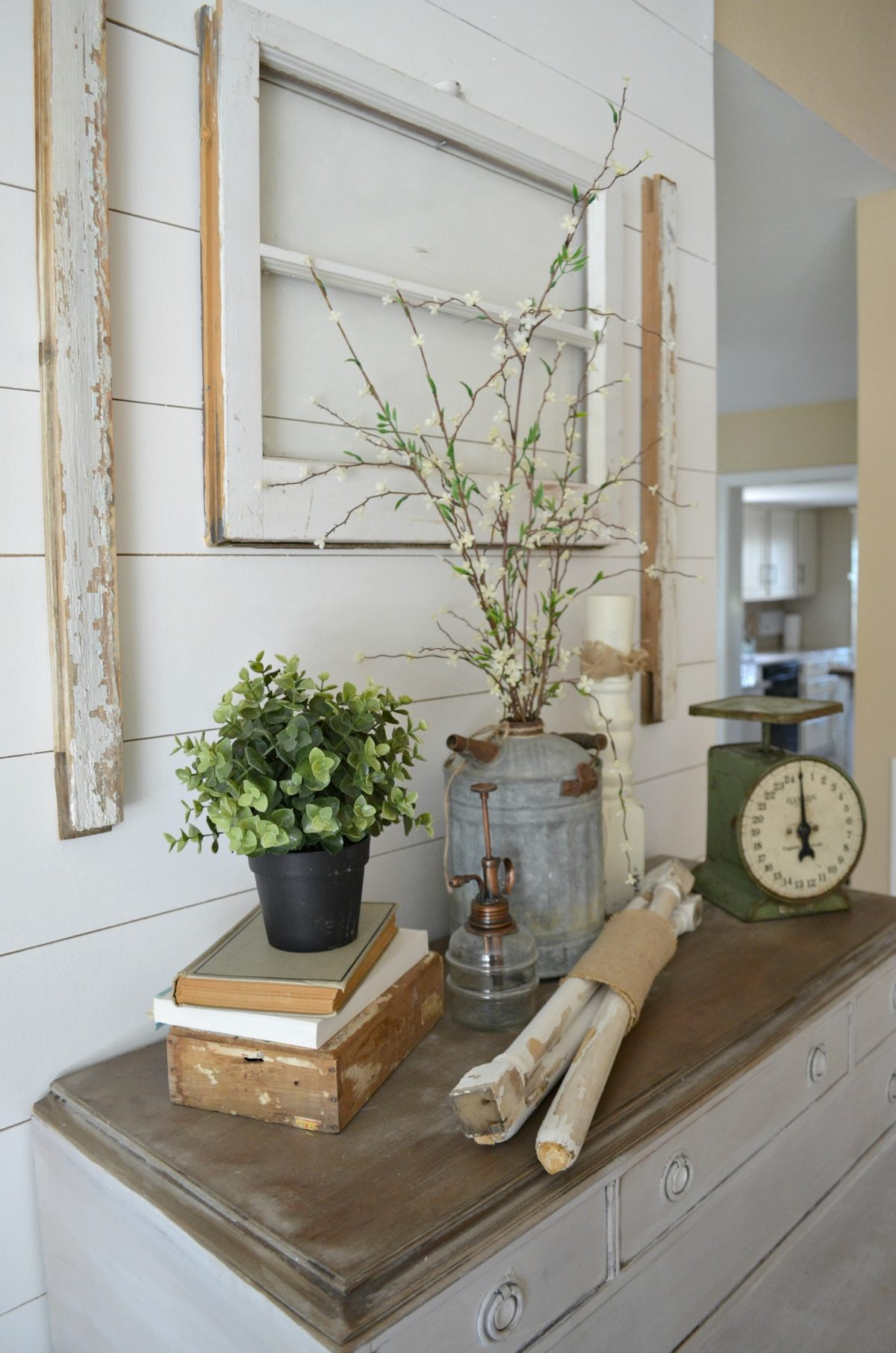 4 Reasons You Should Decorate with Old Windows Little Vintage Nest
