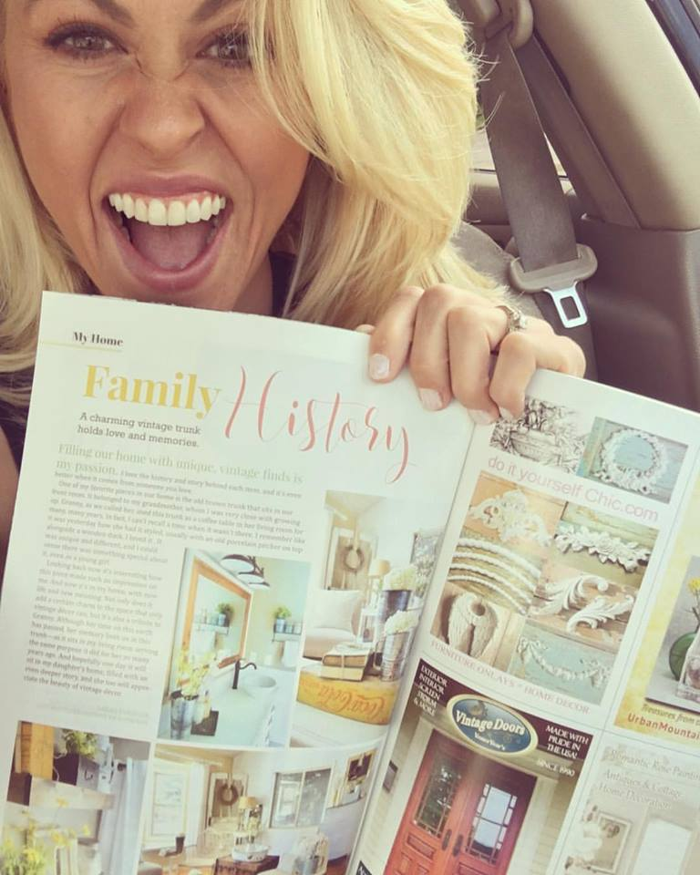 Romantic Homes Magazine Feature + One Year