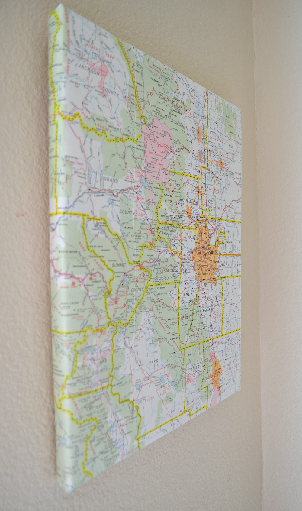 Old Map DIY