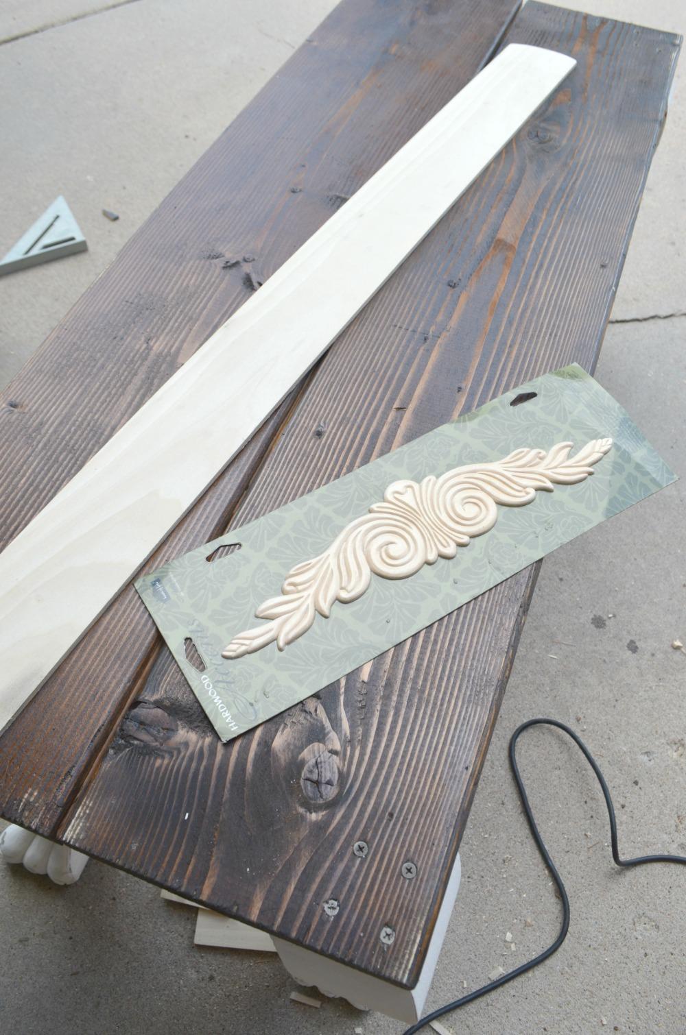 Vintage Clawfoot Bench supplies