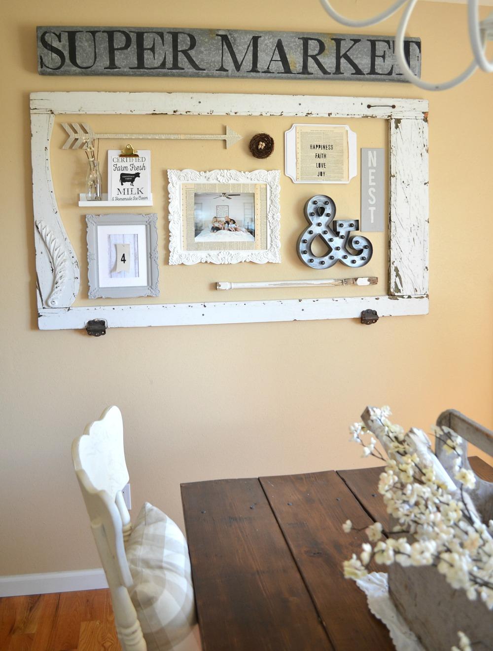Dining Room Gallery Wall