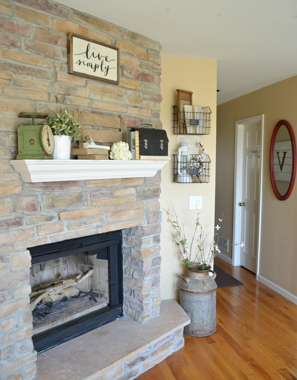 How To Decorate A Brown Living Room: 4 Tips For Decorating The Mantel