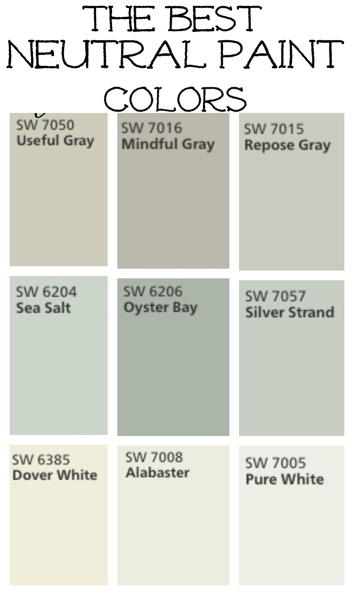 Transitioning to farmhouse style shopping guide Great paint colors