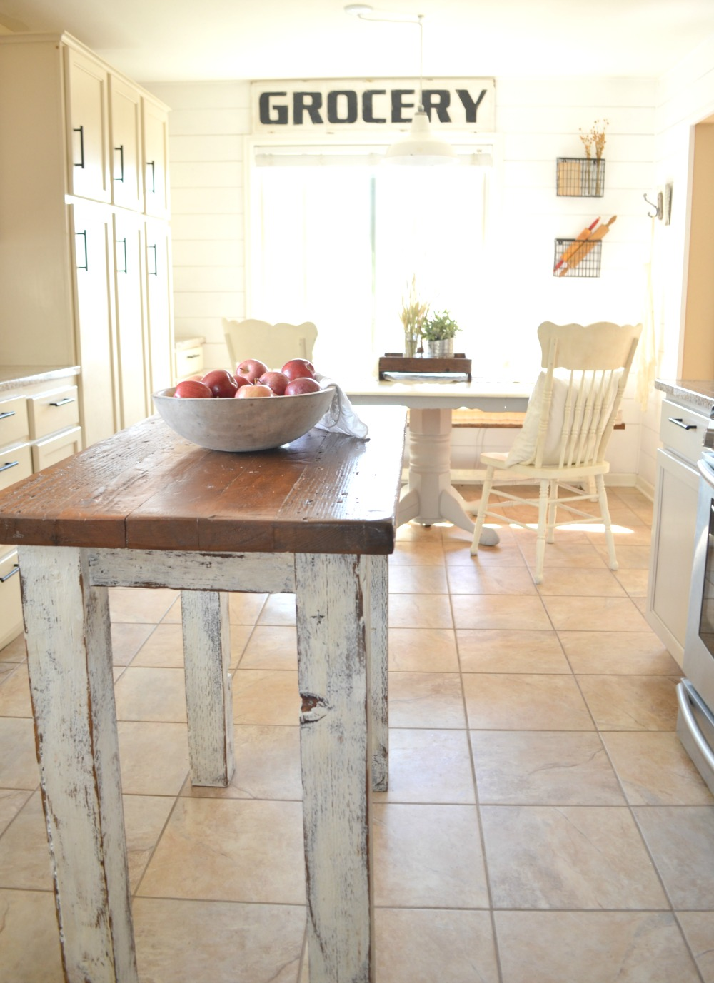Farmhouse Kitchen & Breakfast Nook Tour Little Vintage Nest