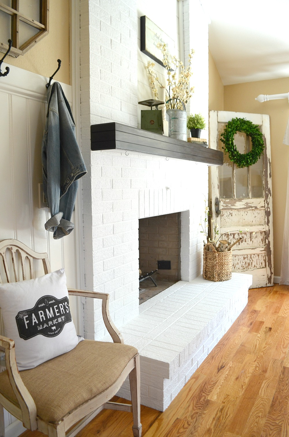 brick for white fireplaces paint living fireplace room with ideas