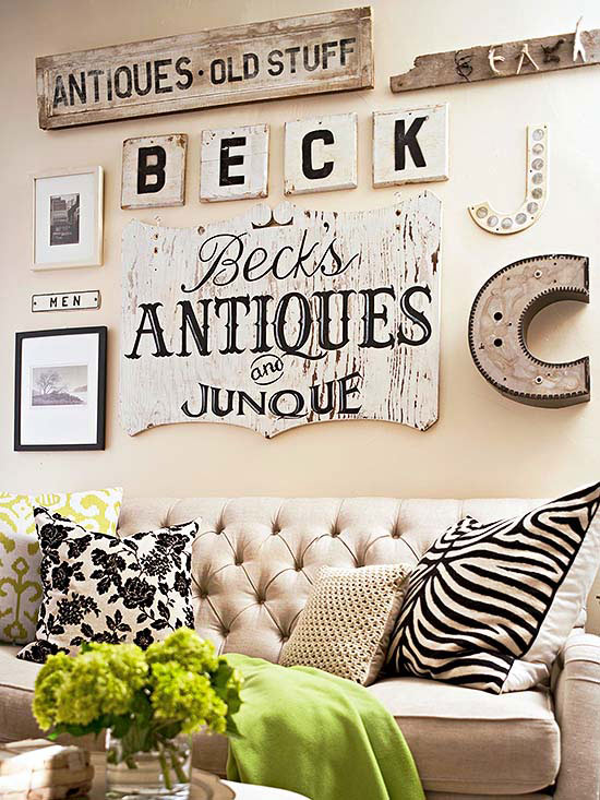 Creative Ways to Decorate Above Sofa
