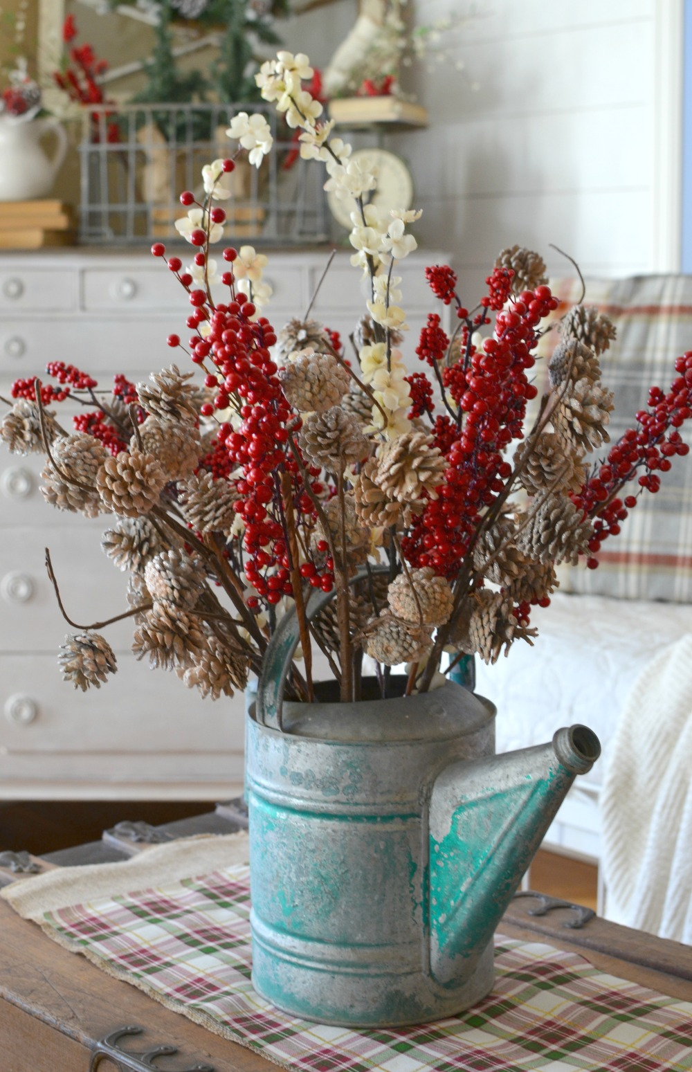 farmhouse christmas centerpiece vintage farmhouse christmas decor