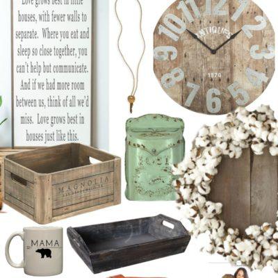 Gift Ideas for the Farmhouse Lover