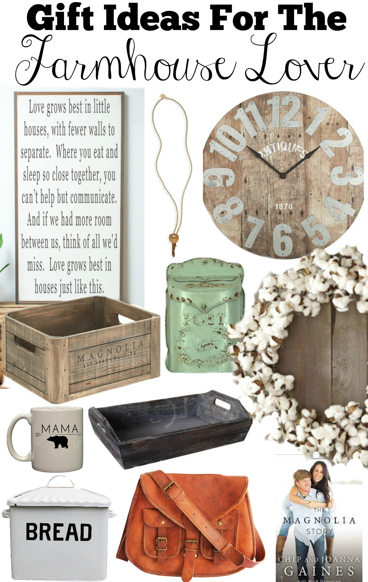 Gift Ideas For The Farmhouse Lover