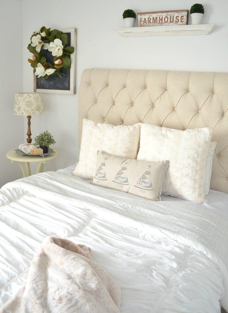 Cozy Guest Bedroom Refresh + Giveaway
