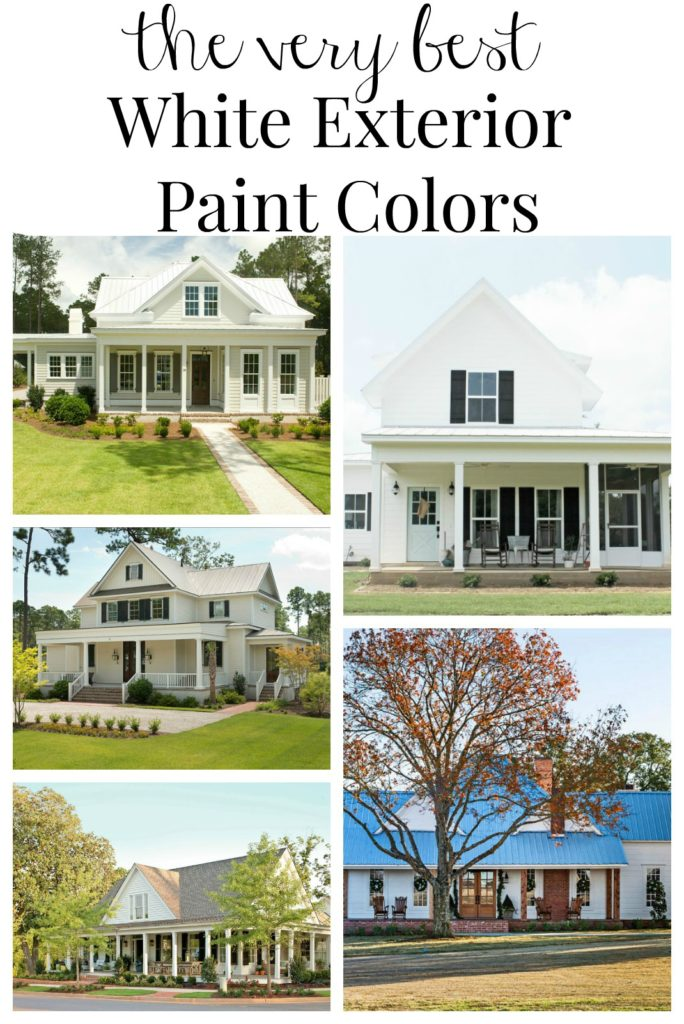 Farmhouse exterior paint color ideas for Best exterior house paint colors