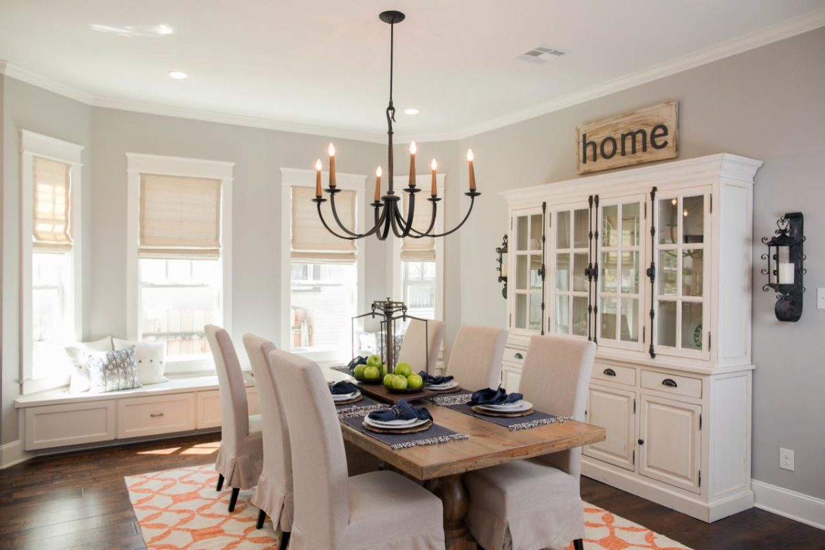 Favorite Fixer Upper Dining Rooms : BPHFXUP310HDownsdining roomAFTER201943689358 1234828jpgrendhgtvcom1280853 from littlevintagenest.com size 1280 x 853 jpeg 103kB