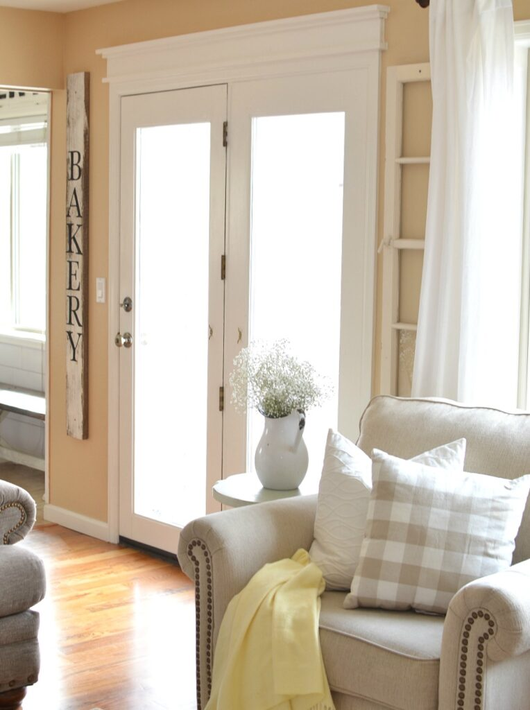A Touch of Farmhouse Charm Book Review & Farmhouse Window Trim Update