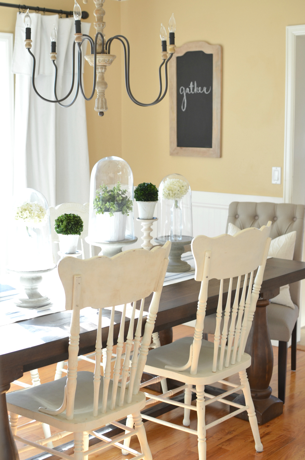 Modern Farmhouse Dining Room Makeover Beautiful Full Of Vintage Charm