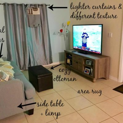 Farmhouse Rehab: Townhouse Living Room