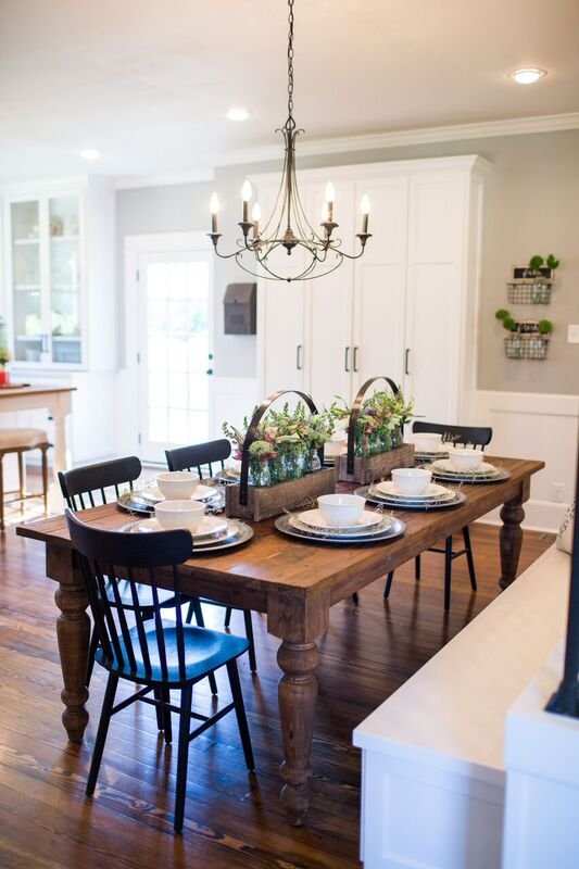 Favorite Fixer Upper Dining Rooms