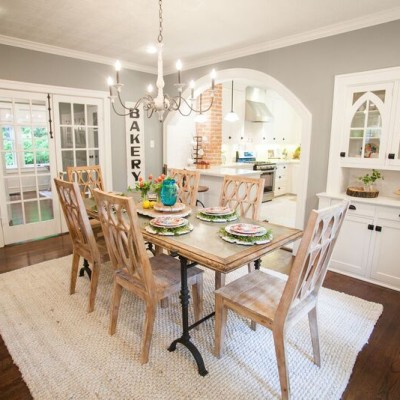 Favorite Fixer Upper Dining Rooms