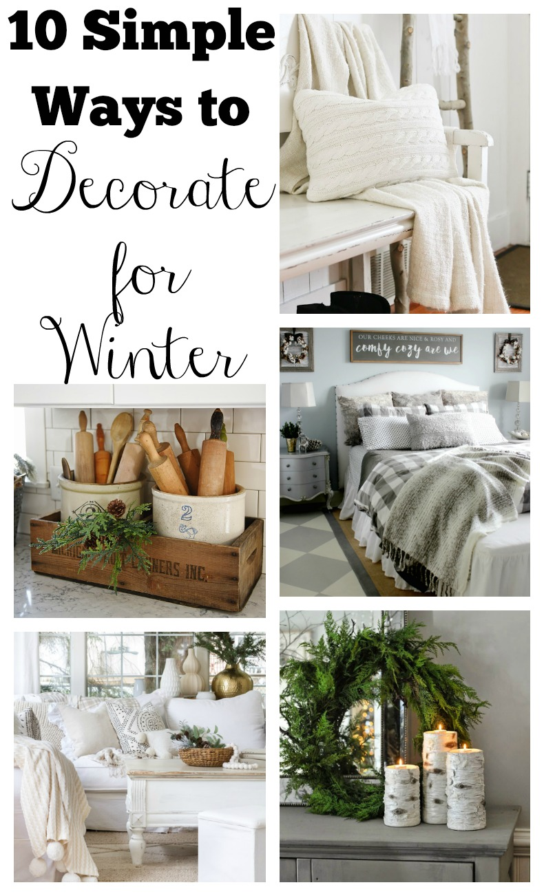 10 simple ways to decorate for winter - How to decorate simple room ...