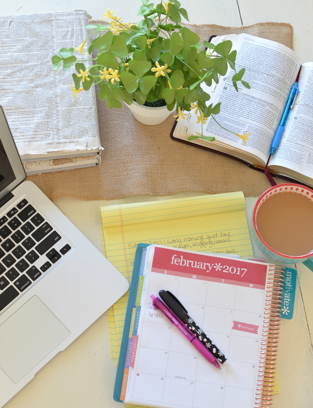 4 Amazing Time Management Tips for Moms. Simple ways to get more out of each day and live a life with less stress and more time.