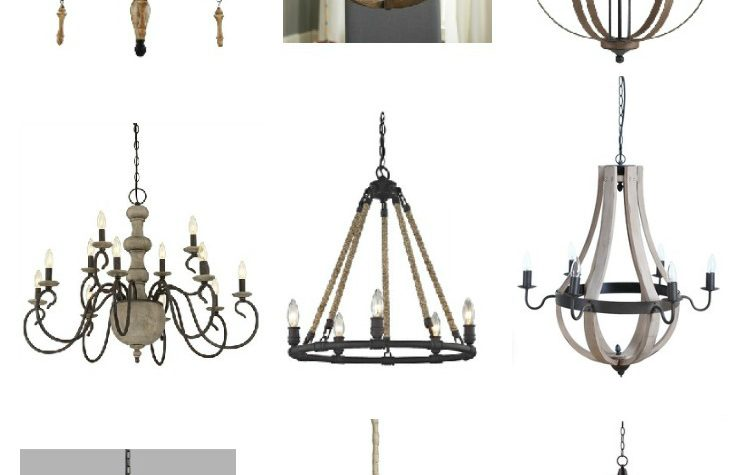 The best farmhouse style lighting. Beautiful and affordable farmhouse light fixtures.