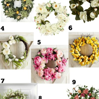 Beautiful Wreaths for Spring