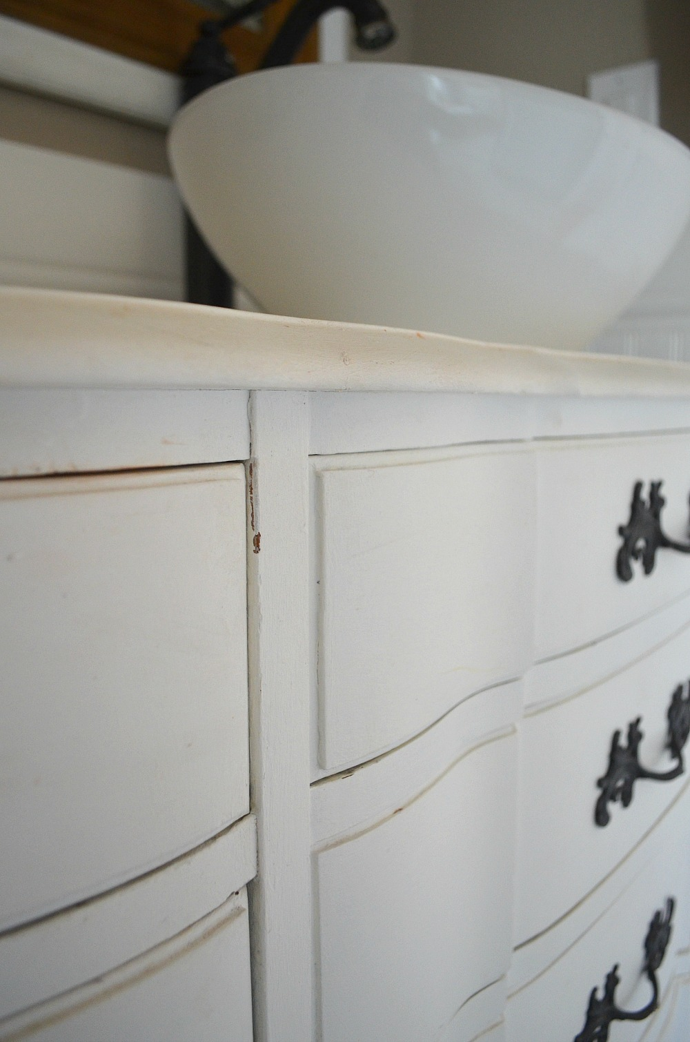 Cheap bathroom vanities under 24200 - Review Of My Chalk Painted Bathroom Vanities