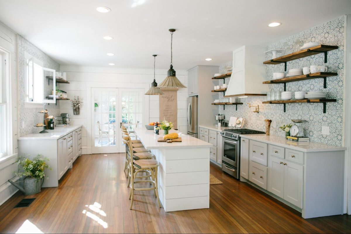 the best fixer upper kitchens. Black Bedroom Furniture Sets. Home Design Ideas