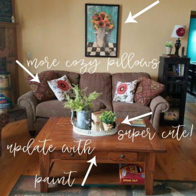 Farmhouse Rehab: Budget Friendly Spring Refresh
