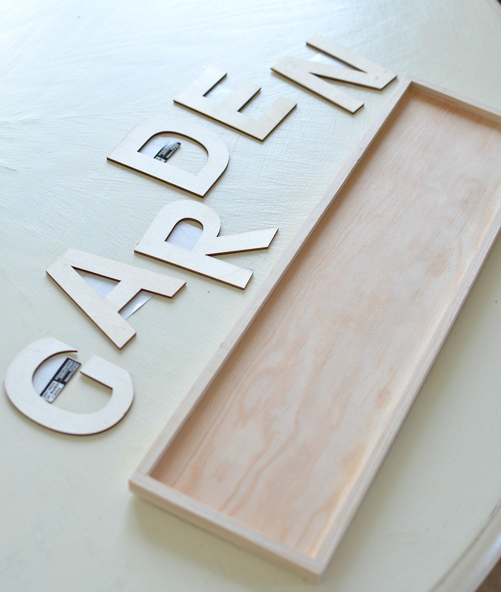 Magnolia Market Inspired DIY Garden Sign