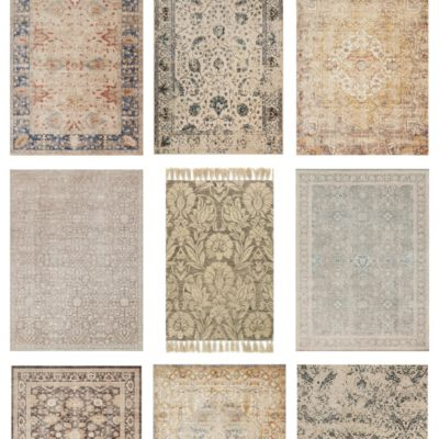 Vintage Inspired Area Rugs For Any Room